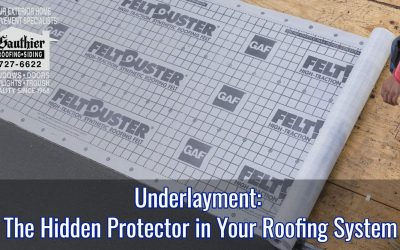 Underlayment – The Secret Line of Defense In Your Roofing System
