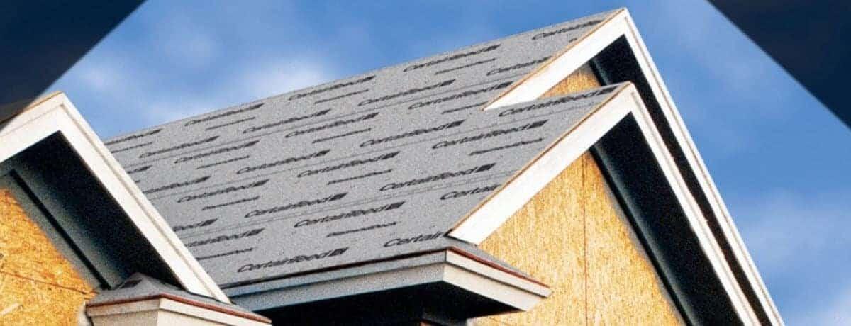 blog content - certainteed roofing underlayment image