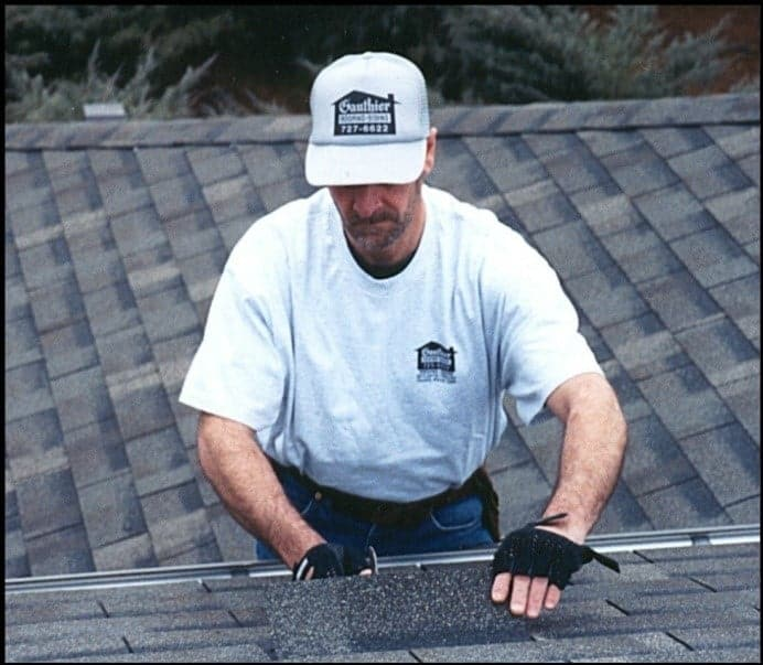 Roofing man
