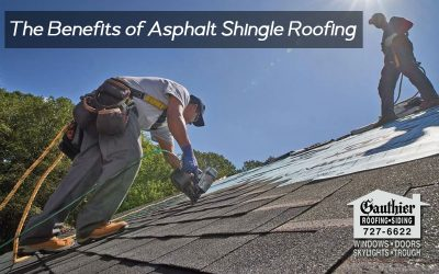 The Benefits of Asphalt Shingle Roofing